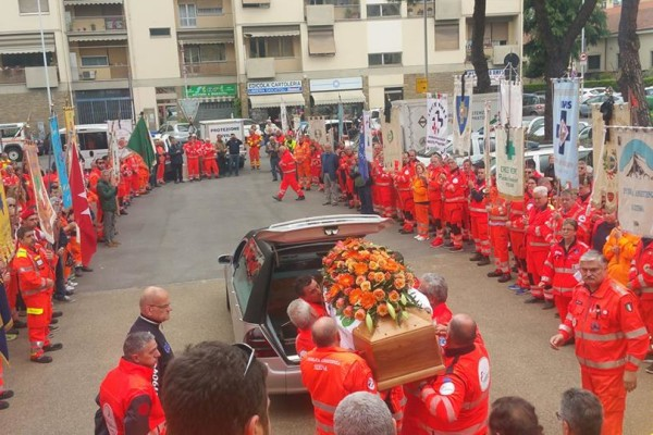funerali Sandro Moni
