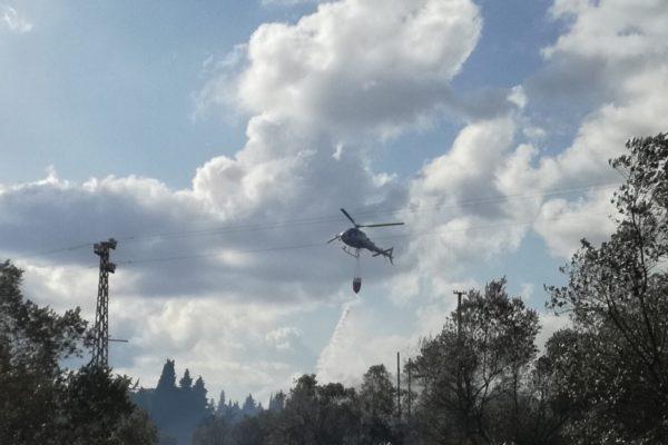 Intervento con elicottero