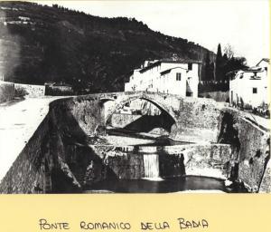 Ponte alla Badia, ponte romanico, 1930