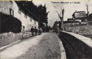 Olmo trattoria Nencioni, 1910