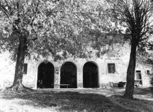 1990, podere Livello (Canepele) abitato dalla famiglia Pieri