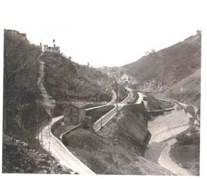 1950 Via Faentina prima della galleria
