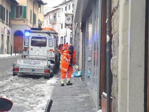 Fiesole: Emergenza neve 01.03.2018
