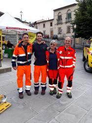 Simone,Federico, Donatella e Cristiano