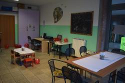 L'area per l'attività dei bambini