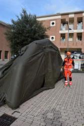 Montaggio della tenda