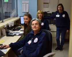 Le volontarie del Poliambulatorio