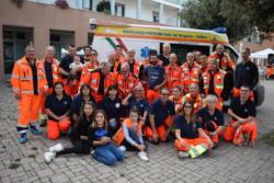 Il gruppo dei volontari della Fratellanza
