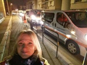 La partenza da Firenze ore 5 e 30