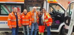 da sx: gli allievi: Giuseppe M., Maurizio P., Massimo C., Barbara B. e la formatrice Giulia B.