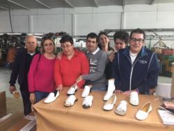 La visita dei ragazzi di Casa Caldine al Calzaturificio di Sabrina Martone